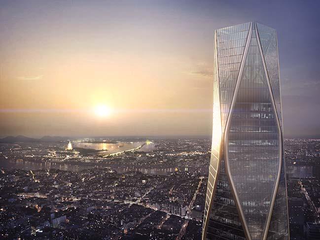 SOM reveals design of Hangzhou Wangchao Center
