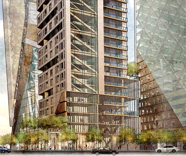 Timber Towers by Hickok Cole