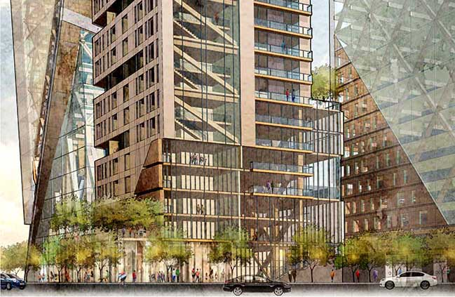 Timber Towers by Hickok Cole Architects