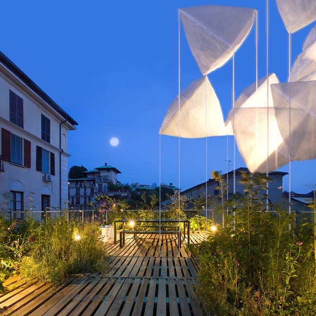 agrAir installation by Piuarch at Milan Design Week 2018
