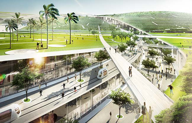 Europa City by Bjarke Ingels Group