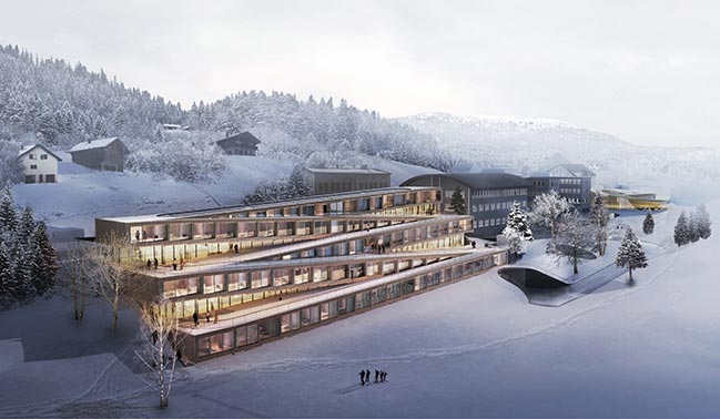 Audemars Piguet Hotel des Horlogers by Bjarke Ingels Group