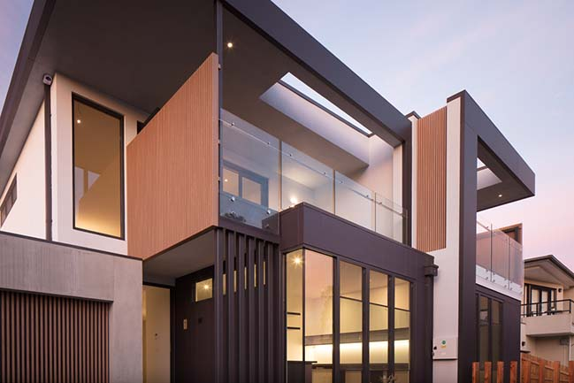 Clark Townhouses in Seaholme by McGann Architects
