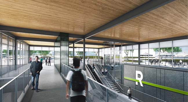 REM Station Architectural and Landscape Concept