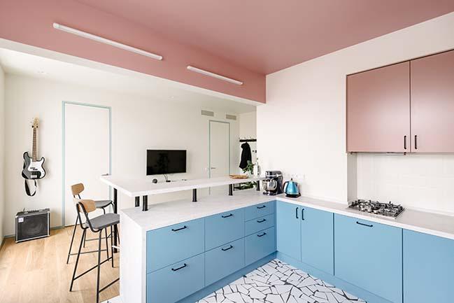 Copenhagen Spirit Apartment in Moscow by buro5