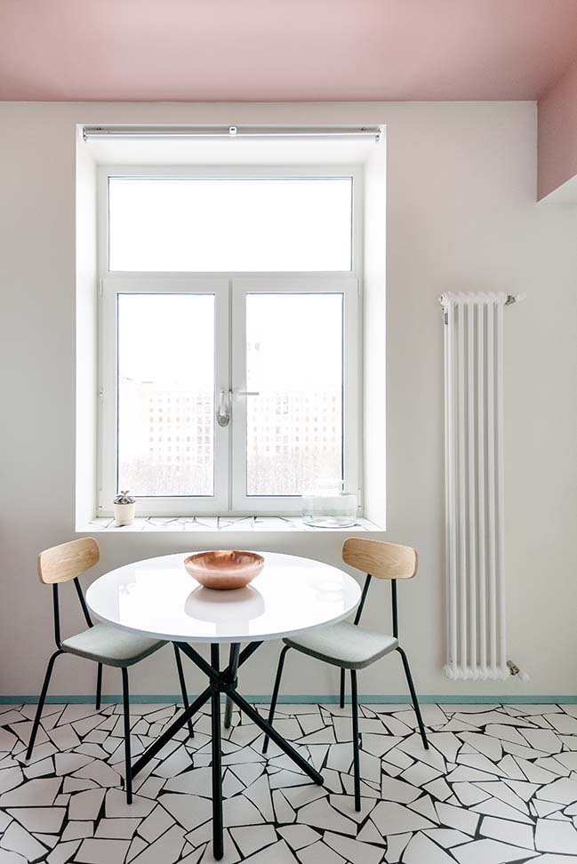 Copenhagen Spirit Apartment in Moscow by buro5