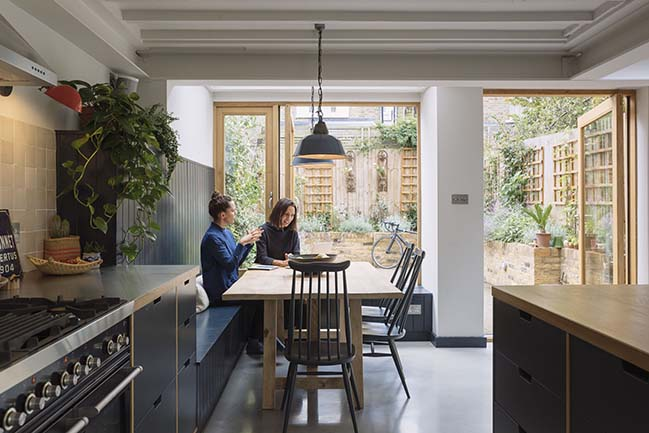 The Curated Home in London by Mustard Architects
