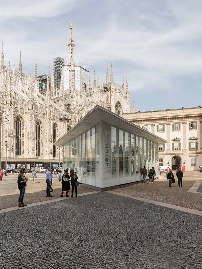 Carlo Ratti Associati's Garden Pavilion with the Four Seasons opens in Milan