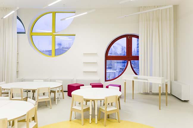 Kindergarten Vashavskoye by Buromoscow