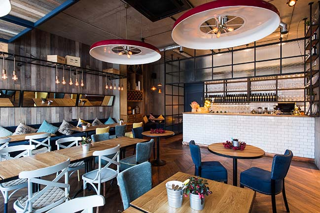 Otto Restaurant by Art Glück Design Group