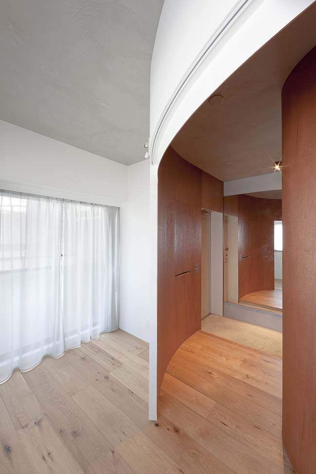 A Draped Wall in Ikebukuro by Tailored design Lab