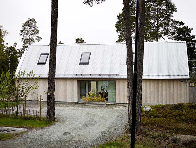 Villa Bjornberget by Delin Arkitektkontor