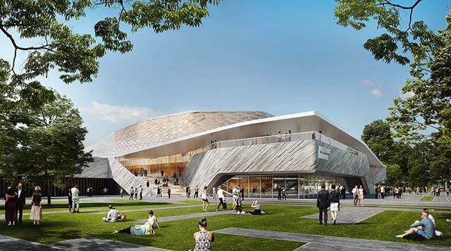 Nuremberg Concert Hall by BART//BRATKE and Matthijs la Roi