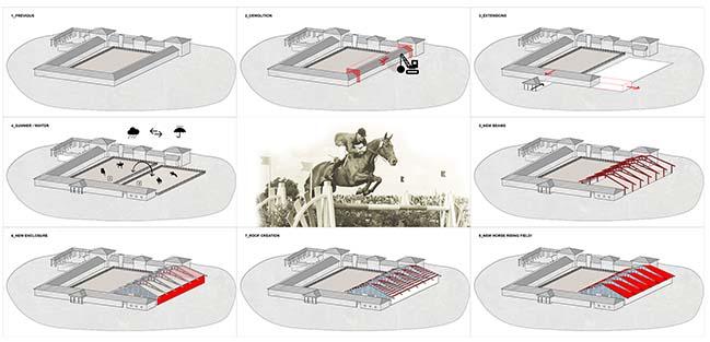 牛场的骑马场/ OOIIO Architecture