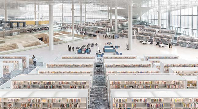 OMA's Qatar National Library offically opened