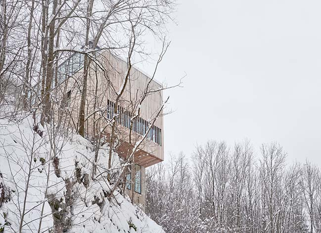 Two-in-One House by Reiulf Ramstad Arkitekter