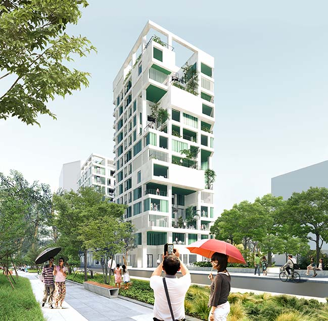 Kaohsiung Social Housing by Mecanoo