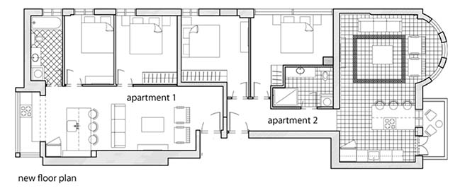 Two apartments design by two sisters from Studio Perri