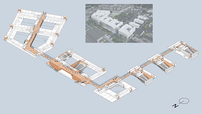 Biology-Pharmacy-Chemistry Metro by Bernard Tschumi Architects