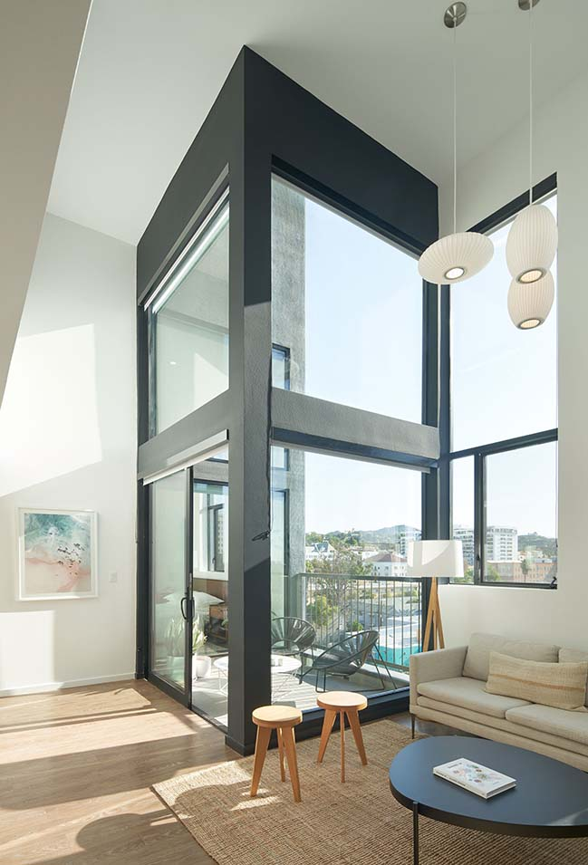 SPF:architects completes Hollywood Line Lofts