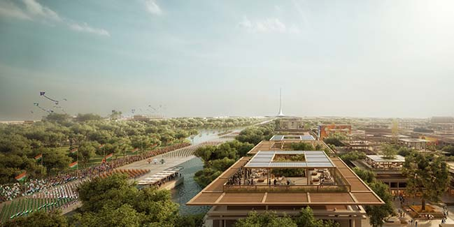 Amaravati Masterplan in India by Foster + Partners