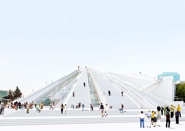 Tirana Pyramid by MVRDV