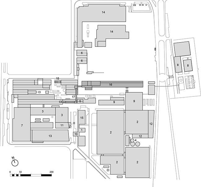 Fantoni Plaxil 8 manufaturing building by Valle Architetti Associati