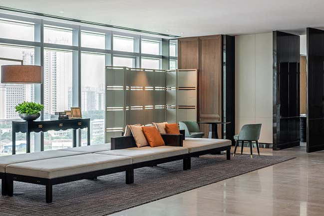 Louvre Sofitel Hotel in Foshan by CCD-Cheng Chung Design