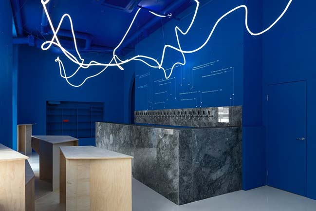 Galaxy Bar and Bottle Shop by Monoloko design