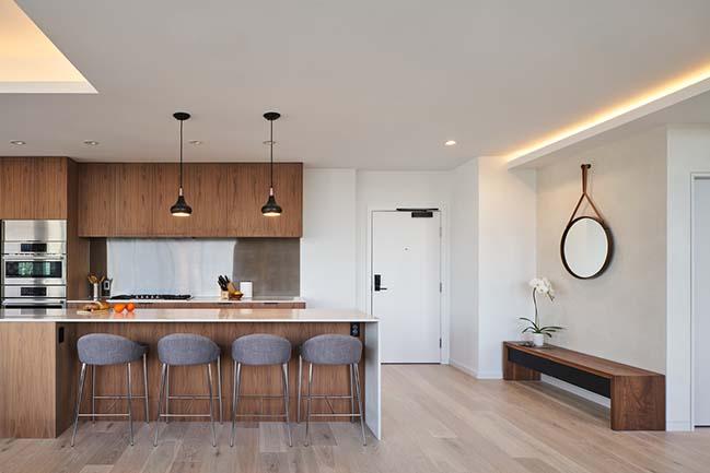 Coal Harbour Apartment by Haeccity Studio Architecture