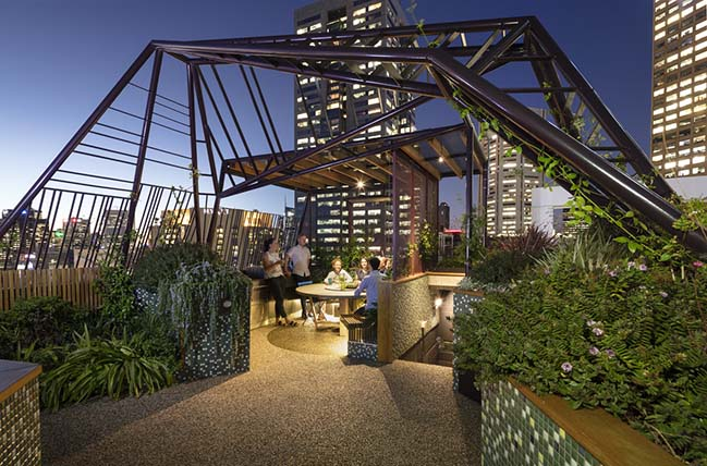 Phoenix Rooftop by BENT Architecture