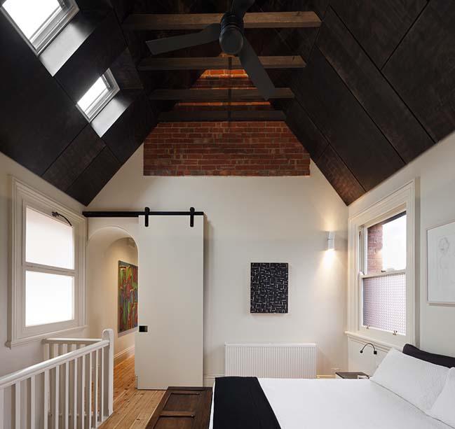 Queen Bess House in Melbourne by ZGA Studio