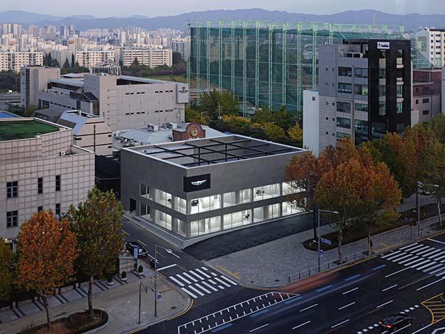 Genesis Gangnam Store in Seoul by OMA