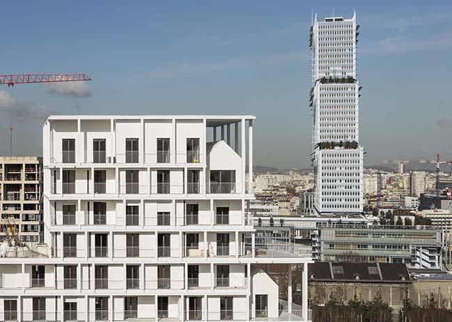ZAC Clichy-Batignolles by AAVP Architecture