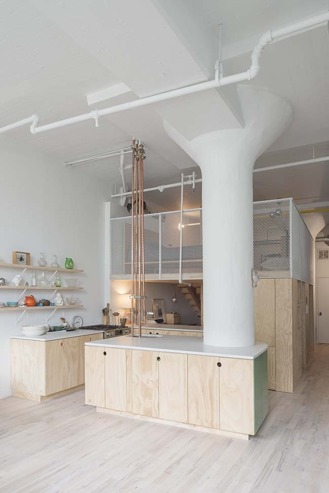 Bed-Stuy Loft in Brooklyn by New Affiliates