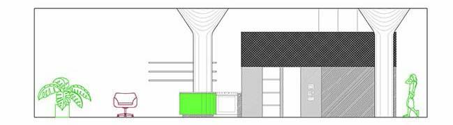 Bed-Stuy Loft in Brooklyn by New Affiliates
