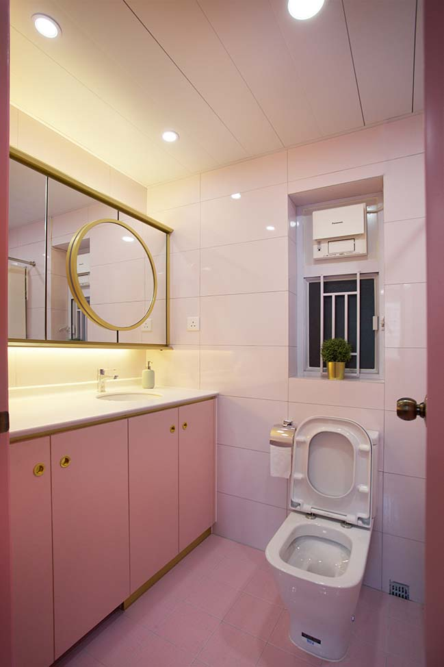 Pretty House in Pink by Sim-Plex Design Studio