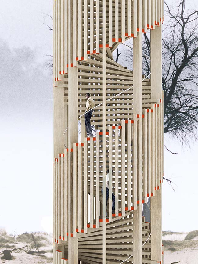 Hoge Blekker Watchtower by NEXT Architects