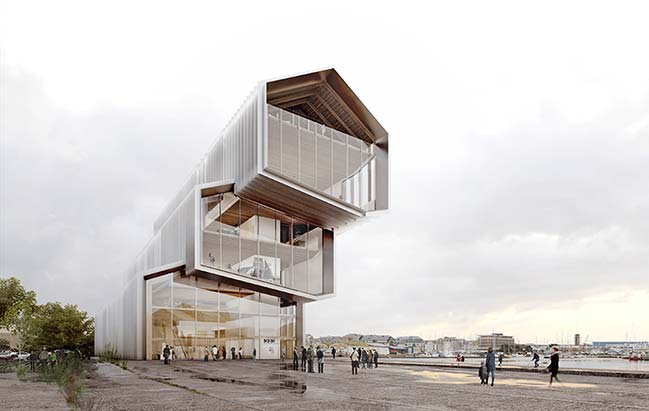 Maritime History Museum by Kengo Kuma and Associates