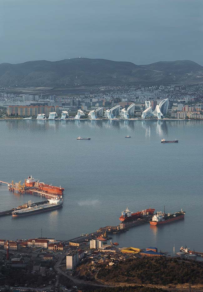 ZHA赢得谢列布里亚科夫海军上将路堤总体规划竞赛