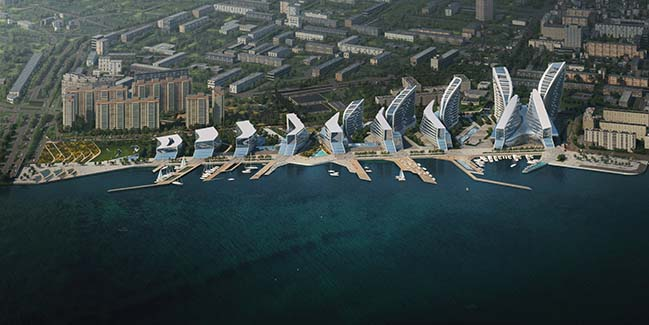 ZHA wins Admiral Serebryakov Embankment masterplanning competition