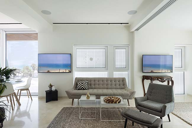 Tel Aviv Apartment by MGA | Meirav Galan Architect
