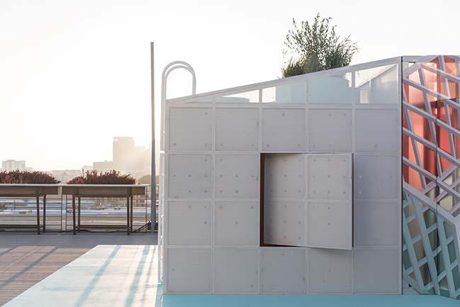 MINI LIVING Urban Cabin Exhibited at the 2018 Los Angeles Design Festival