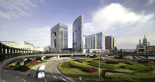 Morpheus Hotel by Zaha Hadid Architects opens in Macau