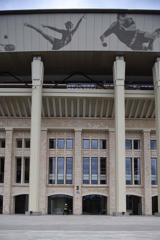 Luzhniki Stadium refurbishment by SPEECH