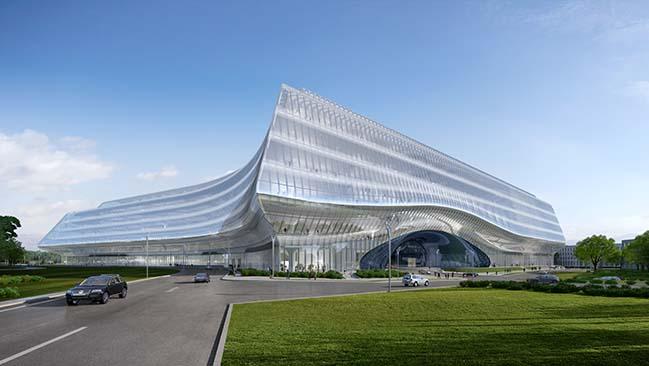 Sberbank Technopark in Moscow by Zaha Hadid Architects