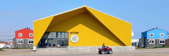 Nunavik's New Cultural Centre by Blouin Orzes architectes