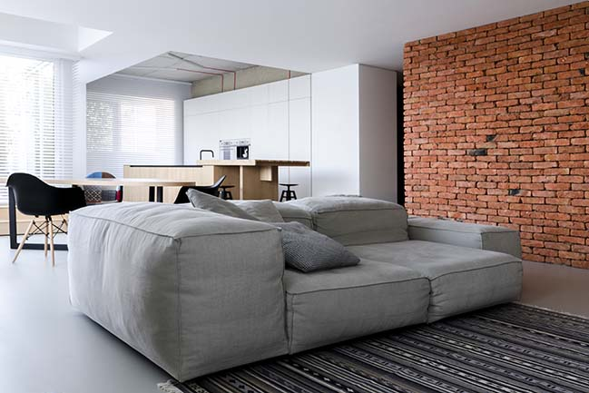 Soft Loft in Moldova by Line architects