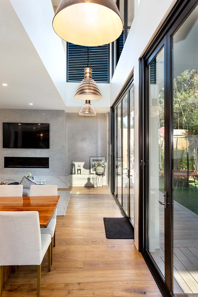 Thompson Home in Melbourne by McGann Architects