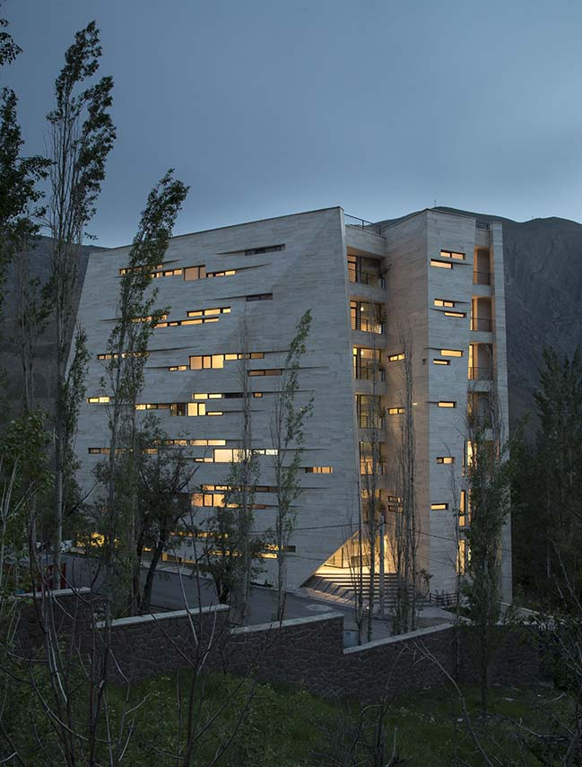 Meygoun residential complex by New Wave Architecture